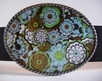 Womens Belt Buckle - Cabbage Patch