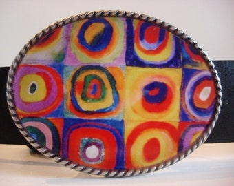 Jada Belt Buckle - abstract
