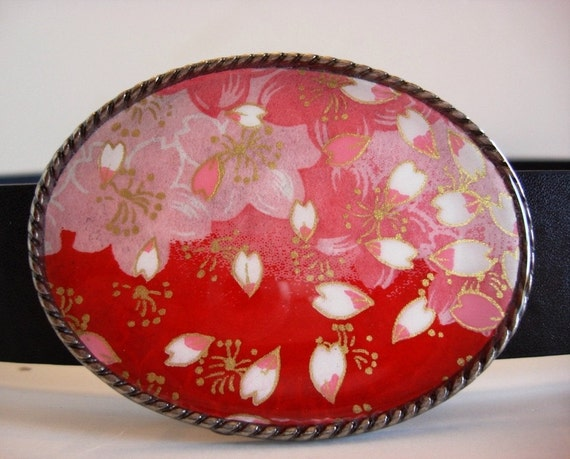 Jada Belt Buckle - Summer Blossom - Add a belt for 8 dollars - SALE