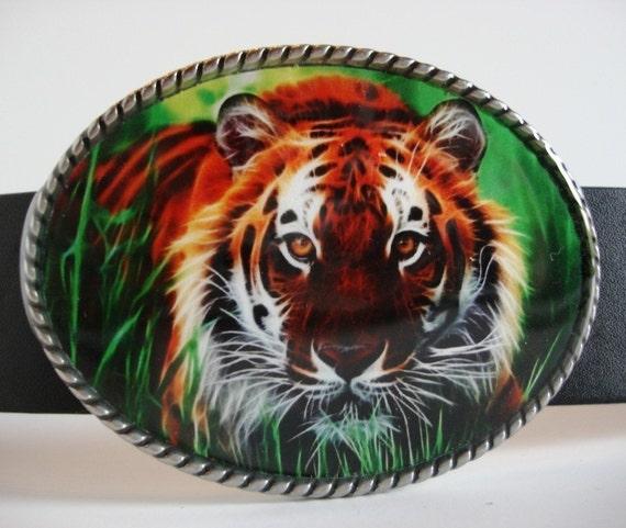 Tiger Belt Buckle -  Animal Jada belt buckle