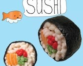 Sushi Roll Magnet