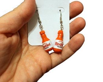 Franks Red Hot Earrings NICKEL FREE