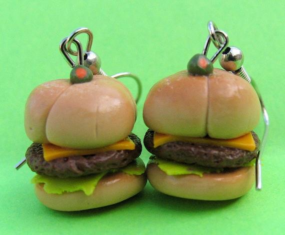 Must Have Juicy Burger Earrings