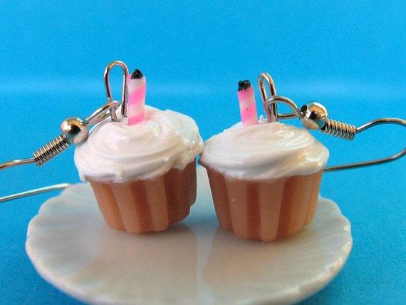 RESERVED Chocolate Birthday Cupcakes