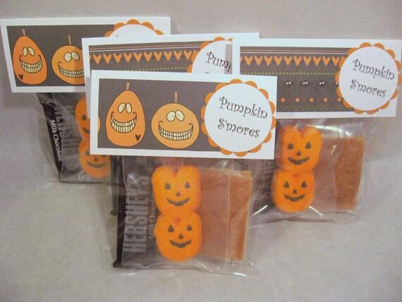 Pumpkin Smores (12 pack)(Pumpkin paper)