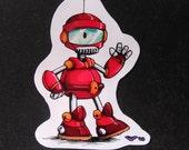 Buzzbot The Robot magnet