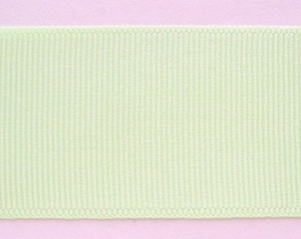 "Grosgrain Ribbon Lime Fizz - 10 yds 1 1/2 inch wide (IN 2 PIECES) or 16 yds 7/8"" wide"