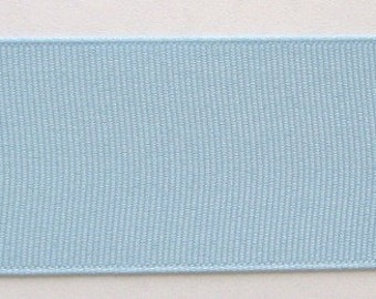 "Grosgrain Ribbon Blue-10 yds 1 1/2 inch wide  or 16yds 7/8 inch wide or 33 yds 3/8"" wide"