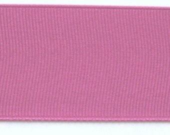 "Grosgrain Ribbon Magenta -8 yds 2 1/4 inch wide or 10 yds 1 1/2 inch wide  or 16 yds 7/8"" wide or 28yds 3/8 inch wide IN 3 PIECES"