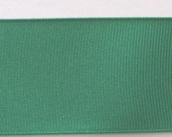 Grosgrain Ribbon Emerald Green-8 yds 2 1/4 inch wide or 10yds 1 1/2 inch or 16 yds 7/8 inch  or 33 yds 3/8 inch (IN 5 PIECES)