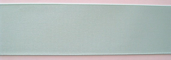 Grosgrain Ribbon Pastel Green-8 yds 2 1/4 inch wide or 10 yds 1 1/2 inch or 16 yds 7/8 inch or 22 yds 5/8 inch