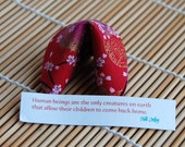 Fabric Fortune Cookie - Asian fabric