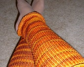 Ladies Leg Warmers - SUNSET