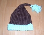 Knit Toddler Hat - CHOCOLATE MINT