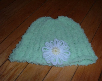 Knit Child Hat - WAITING FOR SPRING