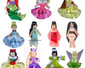 You Pick 4 Princesses ORIGINAL PIXIE PRETTIES DESIGN