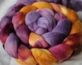 4oz South African Fine Wool Roving - SUPERNOVA