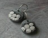 Stone Earrings, Medium