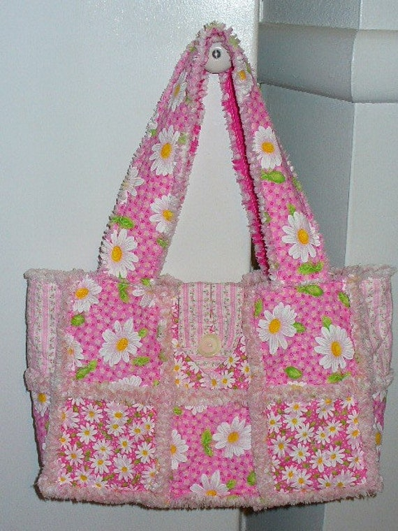 Rag Purse Pattern Instructions FREE Digital Download by