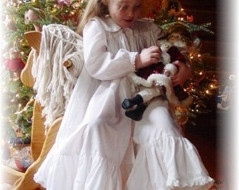 Christmas storybook SUGARPLUM NIGHTGOWN custom boutique 12 mo. - 10