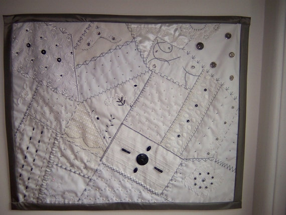 Crazy Quilt Wall hanging (4)