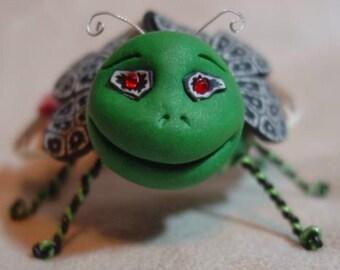 Viper, a  bug sculpture