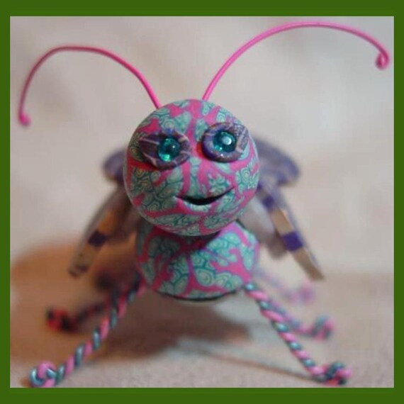 Morphia, a bug sculpture
