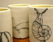 Snail cup set of 4
