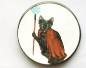 BLACK CAT Magic Talisman Amulet Wicca Pagan Witch
