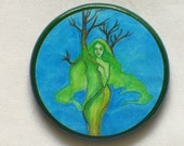 EARTH ELEMENT Talisman Amulet Witch Wicca Wiccan Pagan Gothic