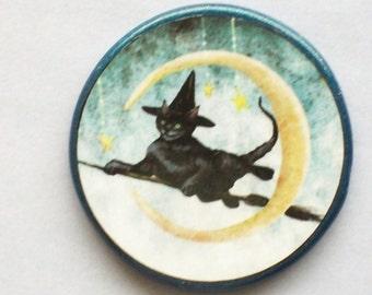ENCHANTED CAT Talisman Amulet Wicca Pagan Totem