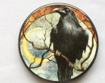 MYSTERIOUS RAVEN Talisman Amulet Wicca Pagan