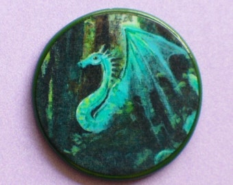 DRAGON FOREST Fantasy Talisman Amulet Witch Wicca