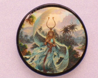 EGYPTIAN Goddess ISIS Talisman Amulet Witch Wicca