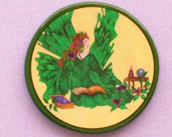 EMERALD FAIRY Talisman Amulet Fantasy