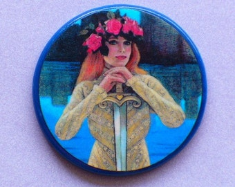 LADY of the LAKE Talisman Amulet Witch Wicca