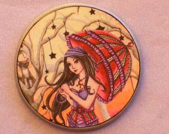 STELLA and the Enchanted UMBRELLA Talisman Amulet Witch Wicca