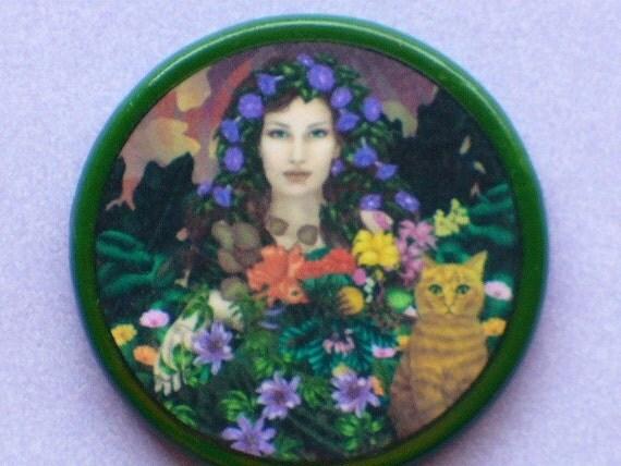HERB GODDESS Talisman Amulet Witch Wicca