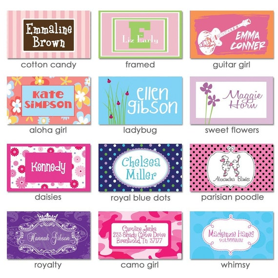 Pick Your Design Bag Tag - Personalized