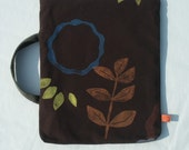Brown ipad reader case