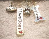 Dog Lover set of 4 stitch markers