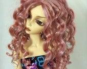 BJD Dollfie Blythe Wig Siren in Shimmer