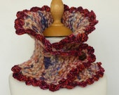 OOAK New for her:  Scarf / Cowl /  neckwarmer  /  Scarflette  0130 under 40