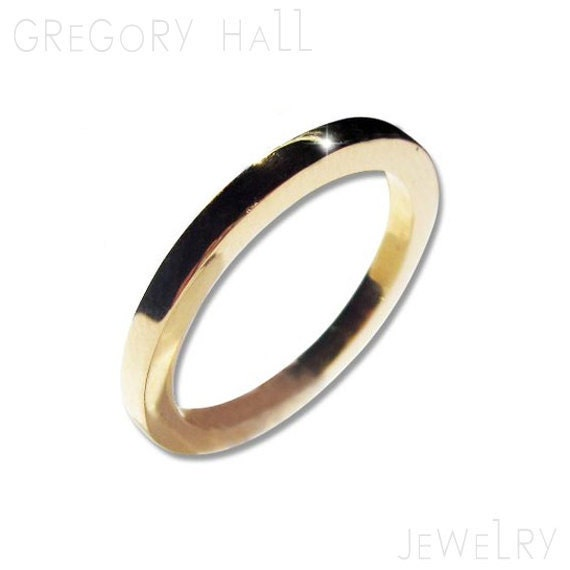 Wedding Band Set 14k Gold Rings for Men and Women