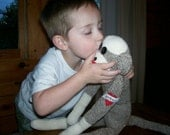 Personalized Sock Monkey Made in USA