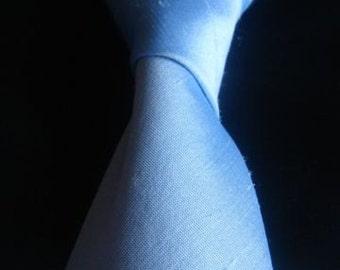 Pale blue tie Pale blue silk tie Pale blue wedding tie pale blue grooms tie pale blue groomsmens tie pale blue formal tie dupioni silk tie