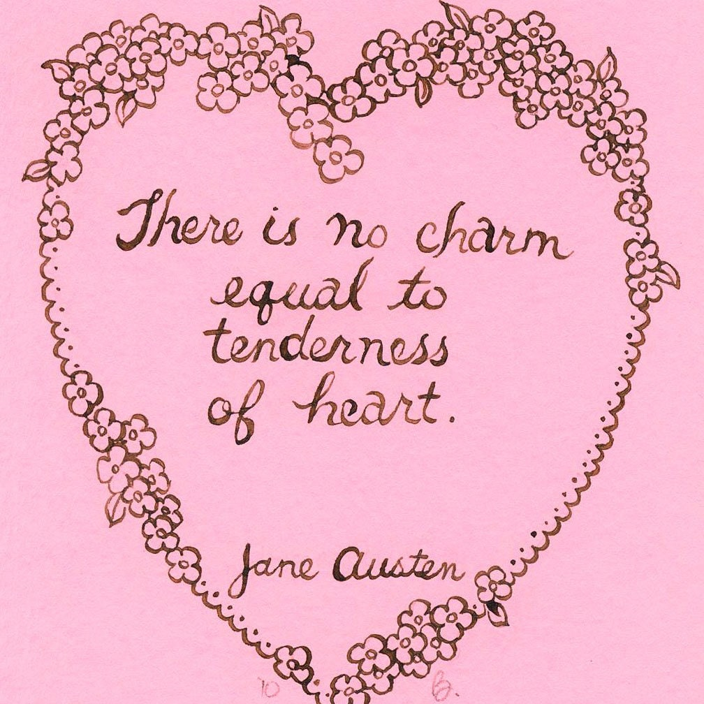austen quotes In my opinion, persuasion is the most romantic of all jane austen's novels of course, i can't deny that pride and prejudice is incredibly beautiful (and i will read retellings of it all day.