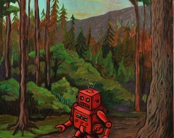 Lost Robot - Print