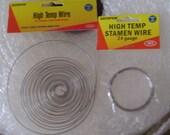 high temperature wire kemper 24 gauge stamen and 17 gauge