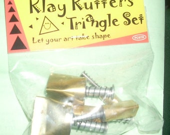 triangle Kemper pattern cutters klay kutters brand new set of 5